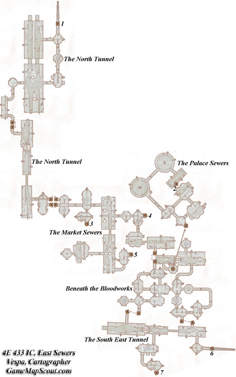 Scheme of East Sewers