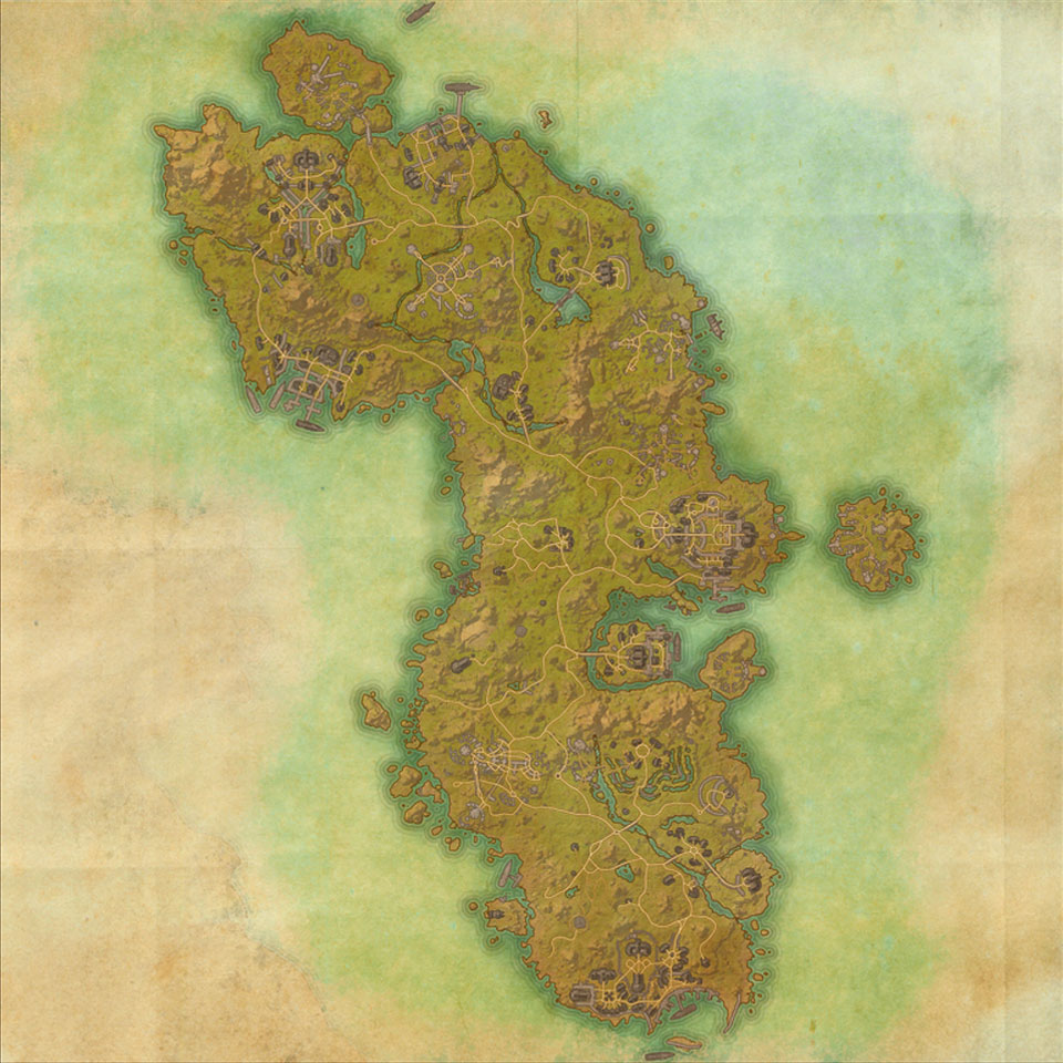 Map of Auridon