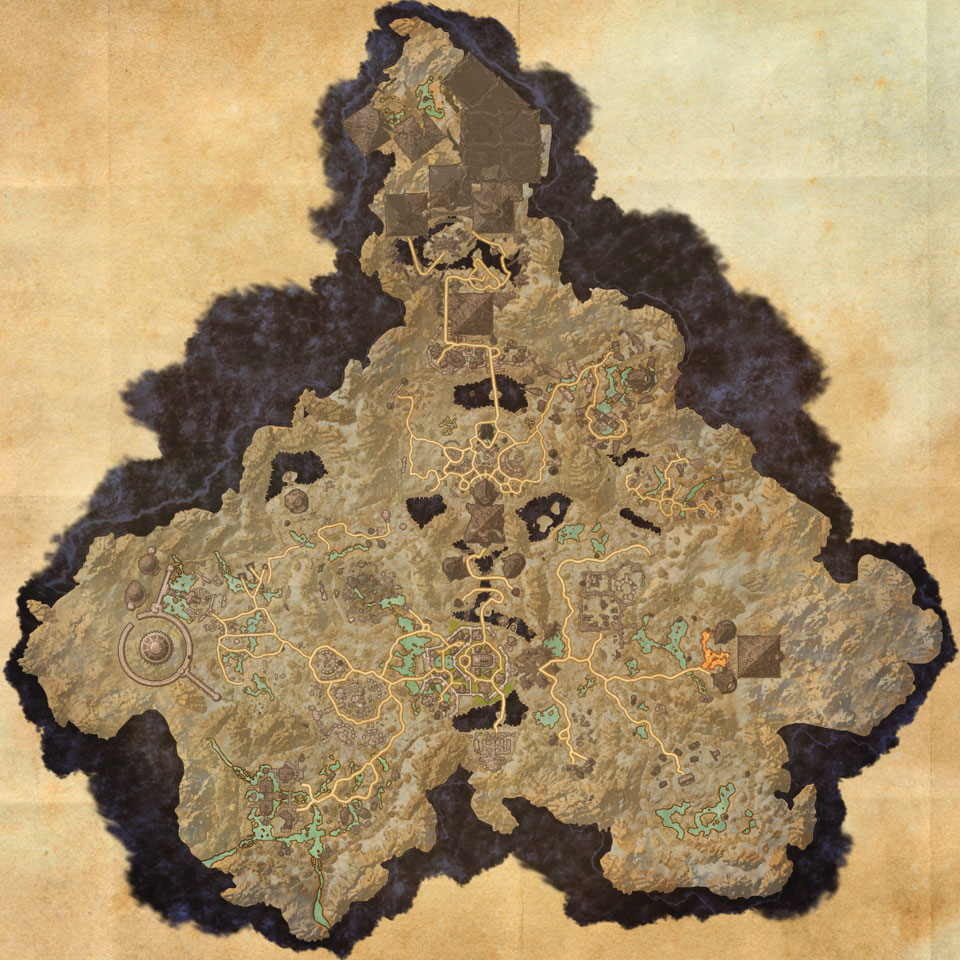 Map of Coldharbour