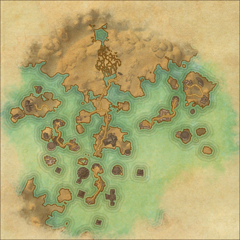 Map of Village of the Lost