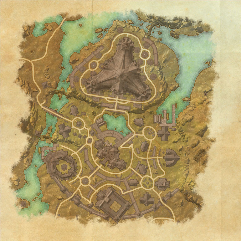 Map of Mournhold