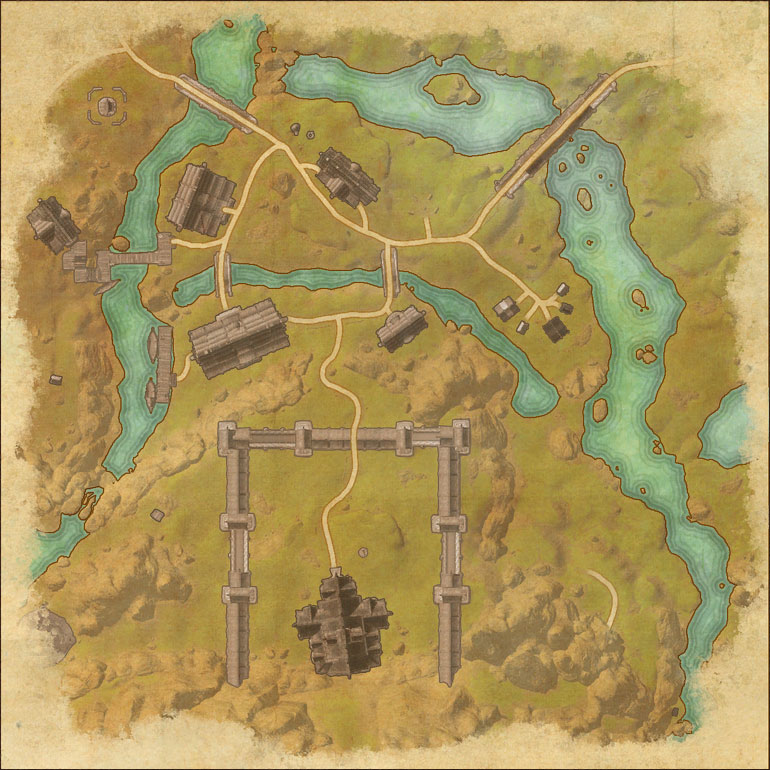 Map of Fort Amol